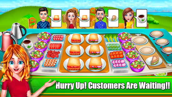 My Salad Shop Bar - Healthy Food Shop Cooking Game Screenshot