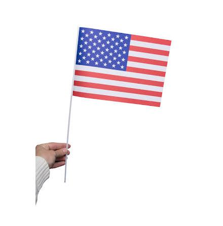 Pappersflagga, USA 27x20cm
