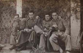 Photo: La Milicia en Santoña. Proveedor: Susana Ojeda. Año: 1952.