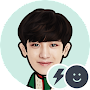EXO Chanyeol Battery Widget APK icon