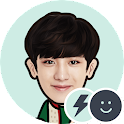 EXO CHANYEOL Battery Widget