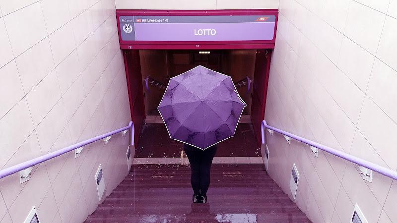 Metropolitana lilla di Marlyn
