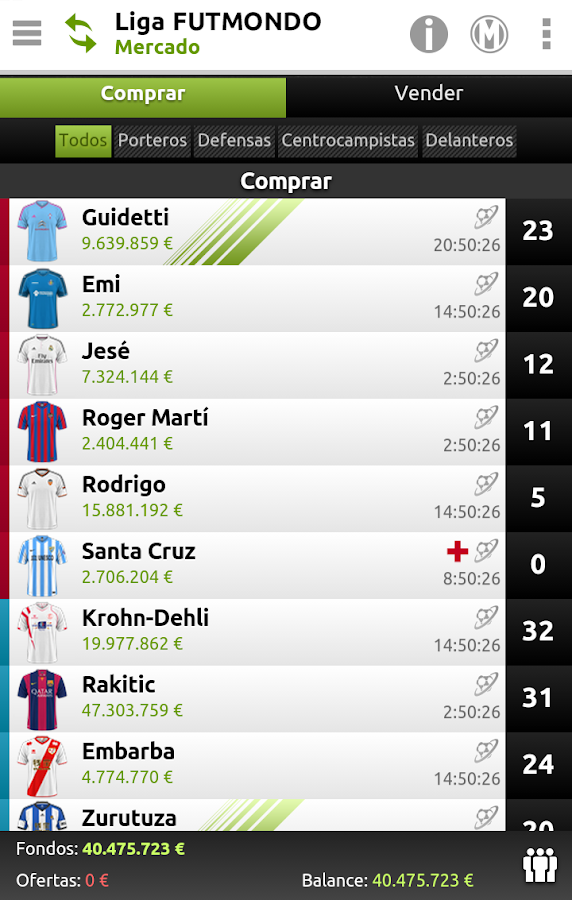 futmondo - Soccer Manager- screenshot