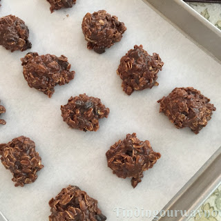No-Bake Chocolate Oat Cookies