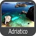 Adriatic Sea Offline GPS Nautical Charts icon