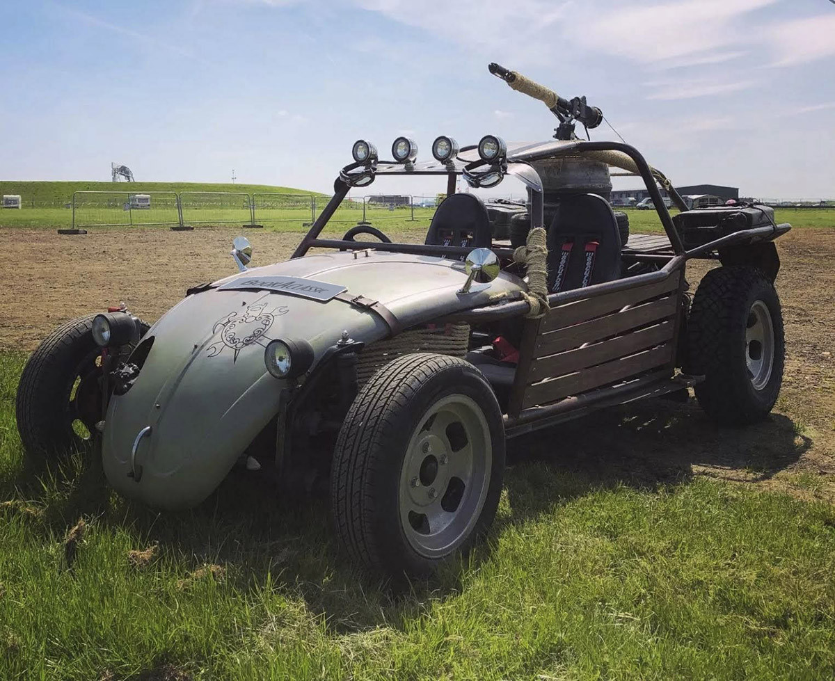 VW Custom Rat Rod for hire in Broadstairs Hire Broadstairs