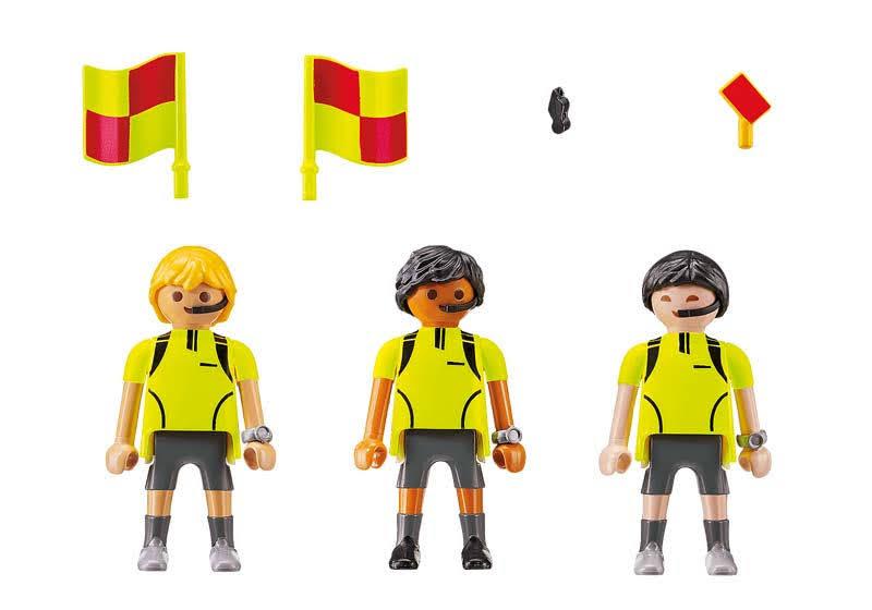 Contenido Real de Playmobil® 70246 Árbitros
