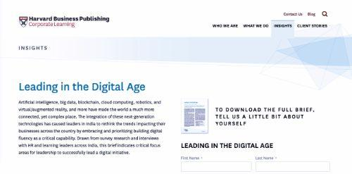 Leading in the Digital Age
