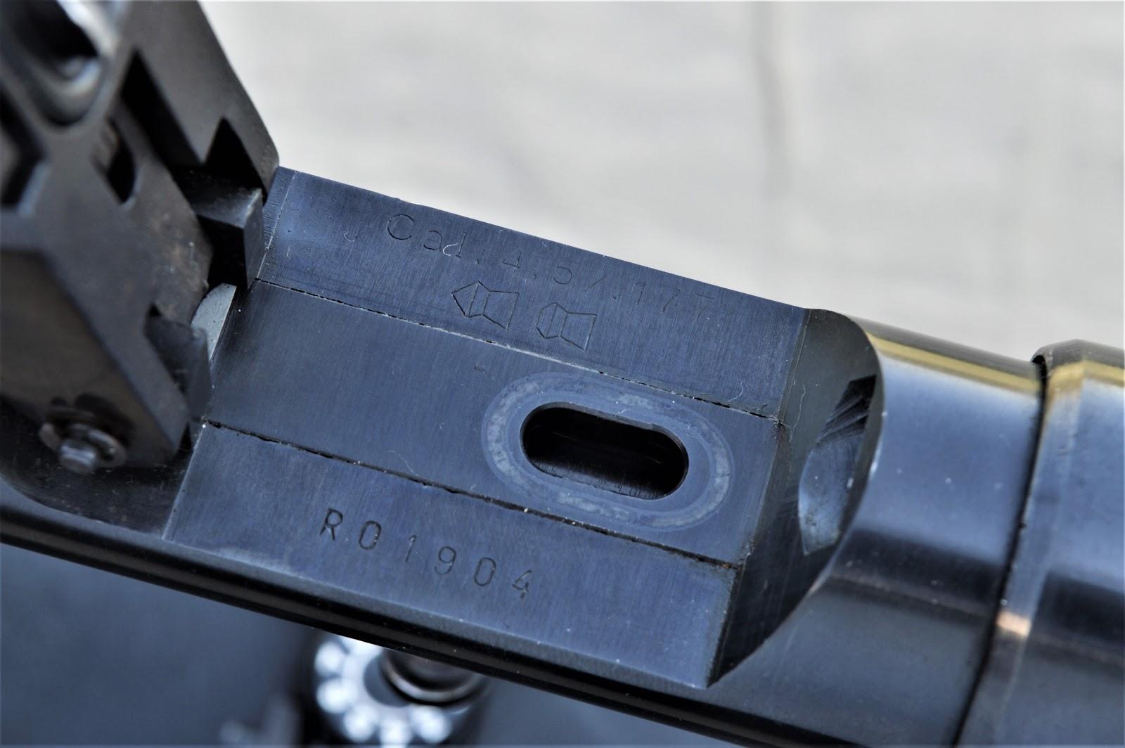 Lozenge shaped pellet entry
