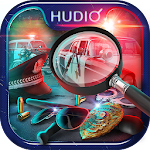 Police detective hidden object games – crime scene Icon