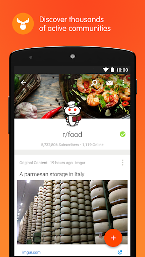 Reddit: The Official App app (apk) free download for Android/PC/Windows screenshot