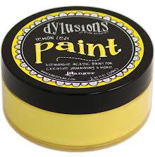 Dylusions Paint 59 ml - Lemon Zest