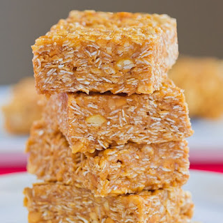 Oatmeal Peanut Butter Coconut Bars Recipes.