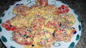 Crazy Rainbow Swirl Cookies Recipe