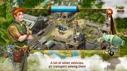 Transport Empire: Steam Tycoon MOD (Unlimited Gold/Money) 4