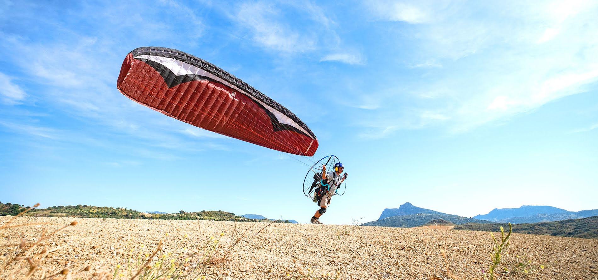 Paramotor training