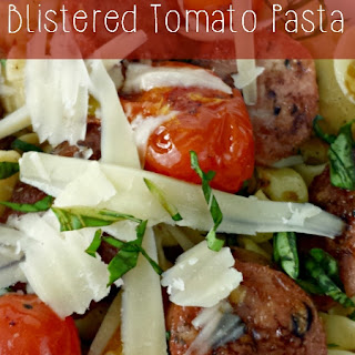 Sausage & Blistered Tomato Pasta
