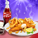 Fish N Chips - Kids Cooking Game icon