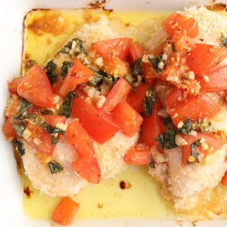 Oven-Baked Bruschetta Chicken