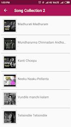 Telugu Old Songs Collection APK screenshot thumbnail 2