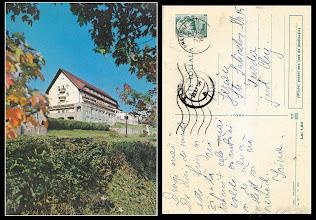 """Photo: Predeal, Hotel """"Rozmarin""""  -  in circulatie in anul 1971-  din  colectia lui Remus Jercau"""