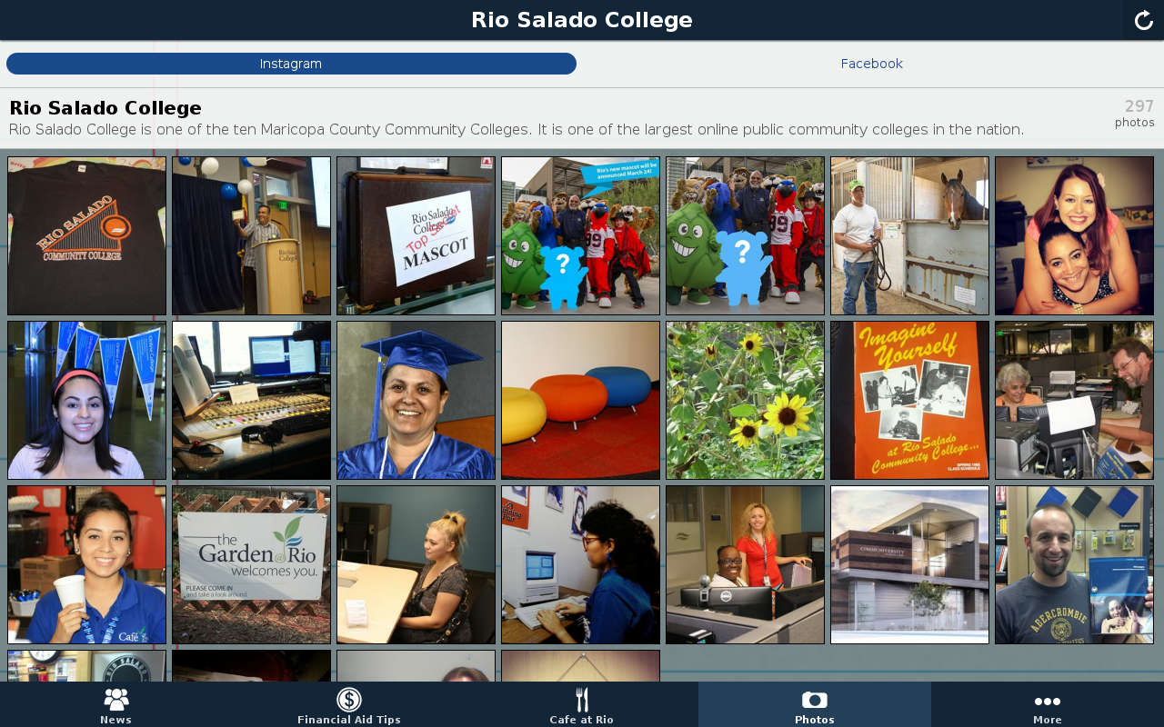Rio Salado College- screenshot