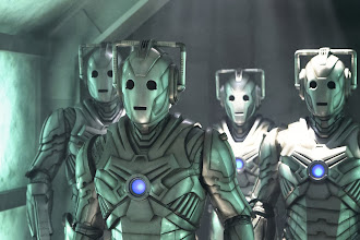 Photo: The Cybermen in the Doctor Who Christmas Special 2013, The Time of the Doctor.