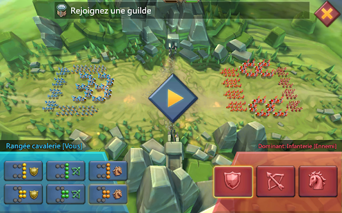 Lords Mobile: Guerre des Royaumes - Bataille RPG Capture d'écran
