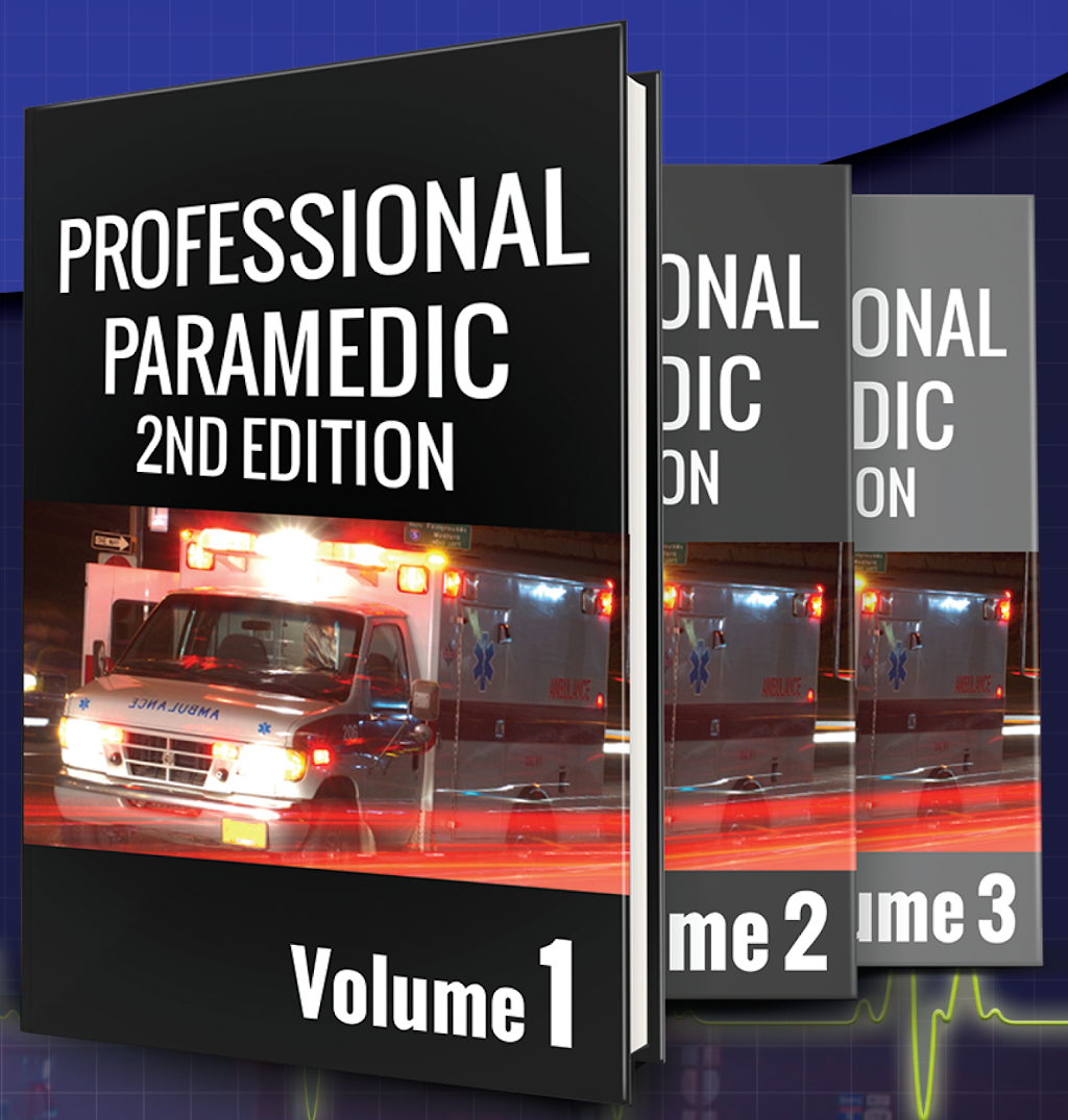 Professional Paramedic 2nd Edition Covers