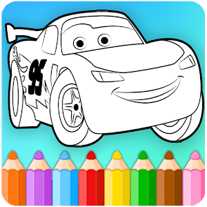 how to color lightning mcqueen coloring pages