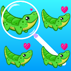 Differences in Pictures - Puzzles for Kids icon
