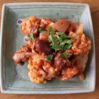 Greek Chicken Stew (Crockpot) - Weight Watchers 5 Points.