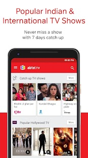 Airtel TV: Movies, TV series, Live TV Screenshot