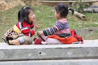Photo: Day 246 - Cute Little Girls  (Laos)