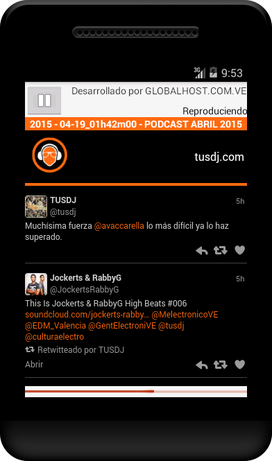 TUSDJ.com- screenshot