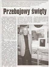 """Photo: Artykuł prasowy """"Gazeta Czechowicka"""", 2005 r."""