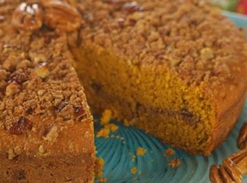 Pumpkin Streusel Coffee Cake Recipe