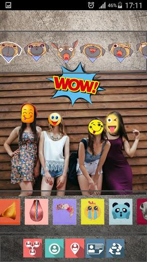 Editeur photos - Crazy Emoji Stickers