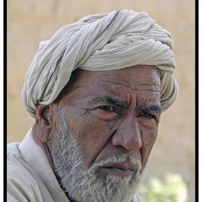 Old Man by Ghazan Joyia - People Portraits of Men (  )