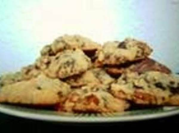 Chunky Hazlenut-toffee Cookies Recipe