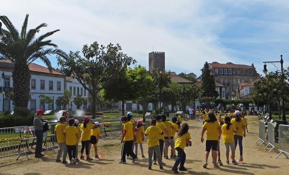 Run Kids juntou 300 crianças do 1º ciclo no Jardim da República
