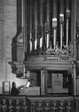 Photo: Paul Schmidt Orgel   St. Marien zu Rostock 1952