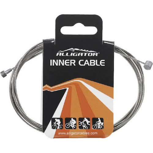 Alligator Brake cable (Mtb/Road), Galvanized - Each