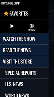 Infowars LIVE- screenshot thumbnail