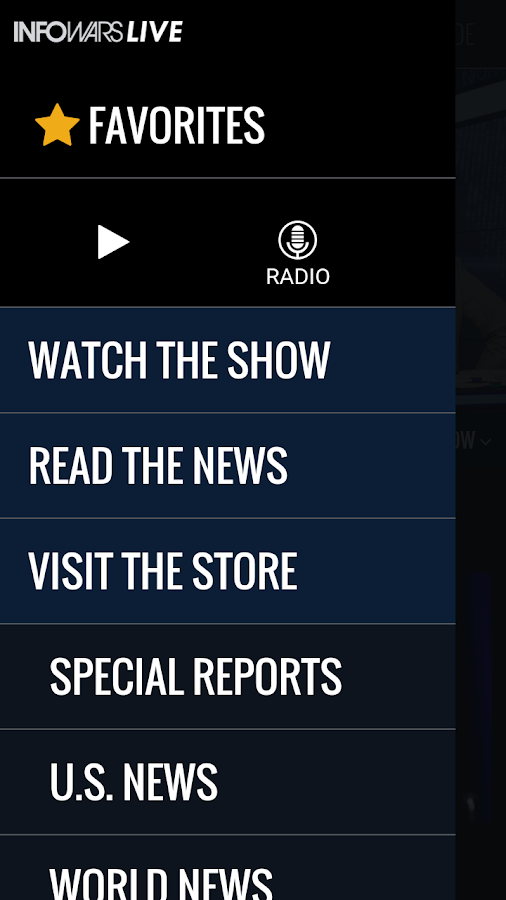 Infowars LIVE- screenshot