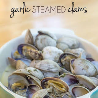 Garlic Steamed Clams.