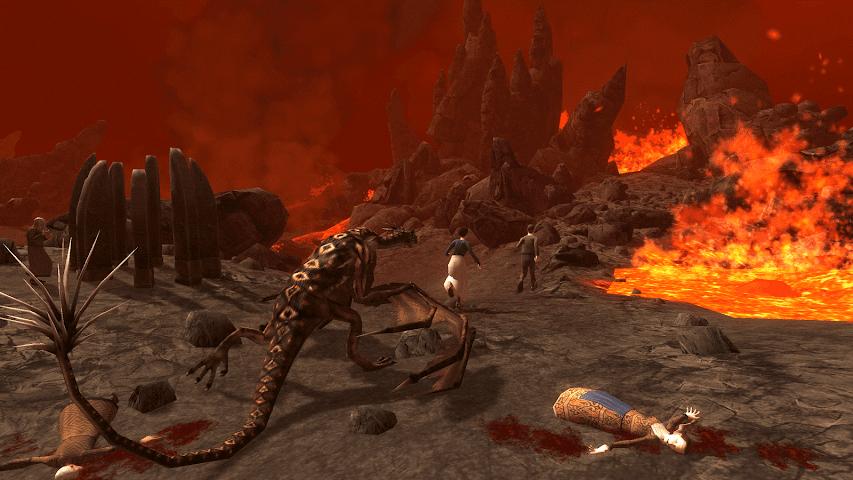 android Wyvern Simulator 3D Screenshot 3