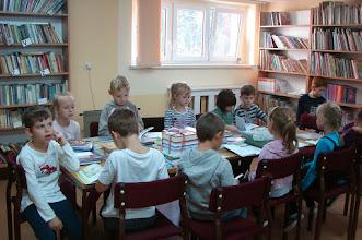 Photo: W szkolnej bibliotece