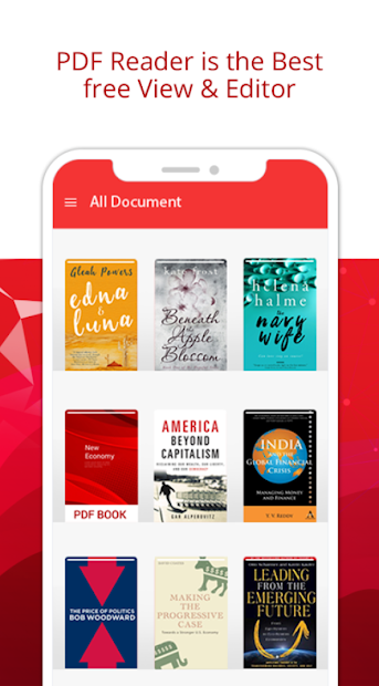 PDF Reader – PDF Viewer & Epub, Ebook reader Android App Screenshot