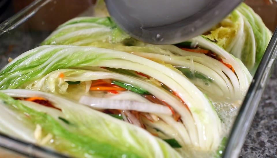 white kimchi